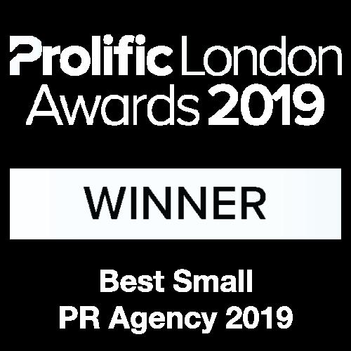 Prolific London Awards 2019