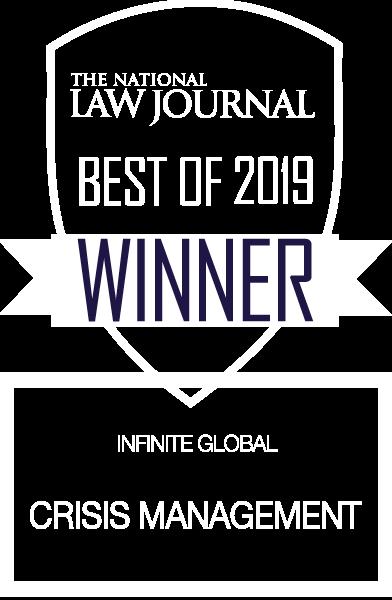 NLJ 2019 Winner Crisis Management